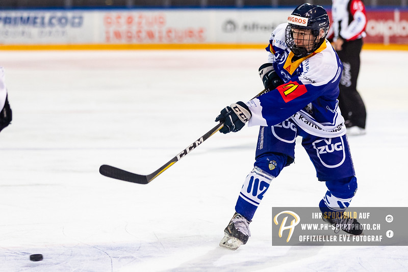 Elite A Junioren - 18/19: EV Zug - HC Lugano - 14-10-2018