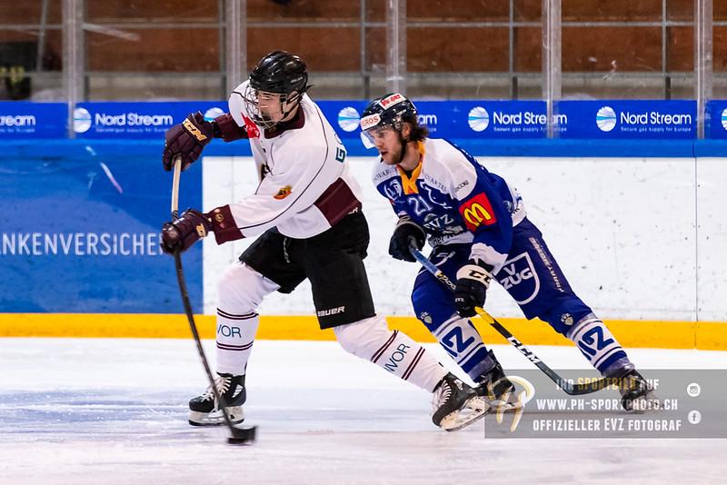 Elite A Junioren - 18/19: EV Zug - Geneve Future Hockey - 25-11-2018