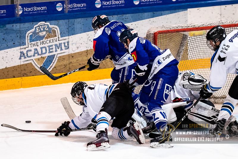 Elite A Junioren - 18/19: EV Zug - Fribourg Gotteron MJ - 02-12-2018