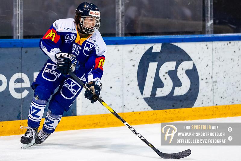 Elite A Junioren - 18/19: EV Zug - GCK Lions - 09-12-2018