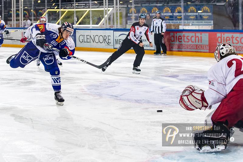 Elite A Junioren - 18/19: EV Zug - Lausanne 4 Clubs - 13-01-2019