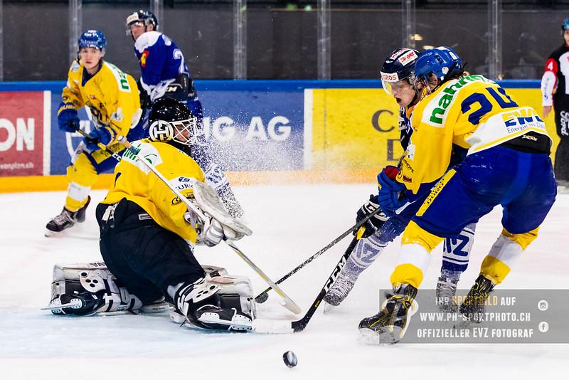 Elite A Junioren - 18/19: EV Zug - HC Davos - 14-02-2019