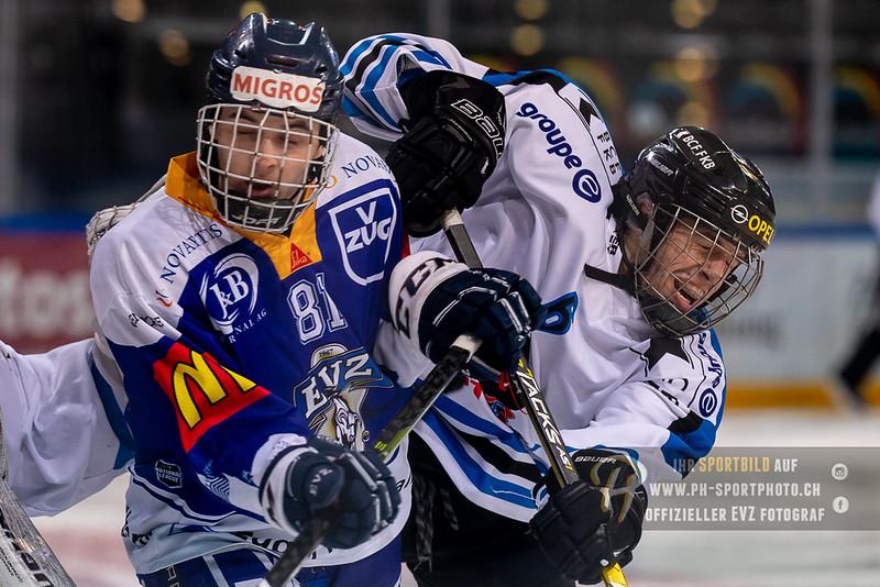 Elite A Junioren - 18/19: EV Zug - HC Fribourg Gotteron - 08-03-2019