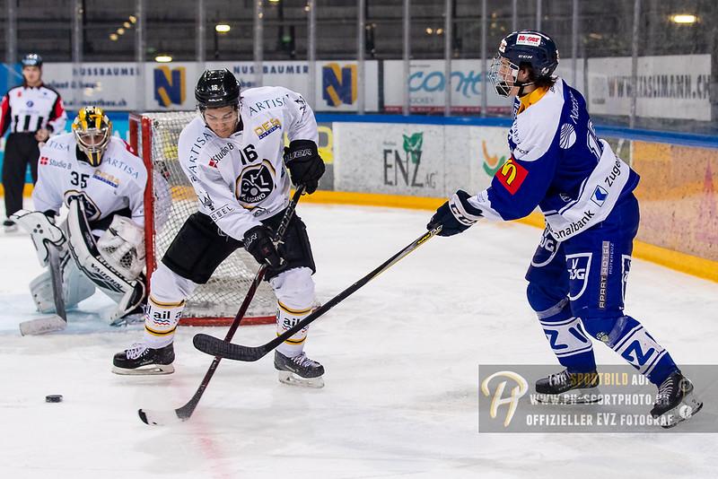 Elite A Junioren - 18/19: EV Zug - HC Lugano - 17-03-2019