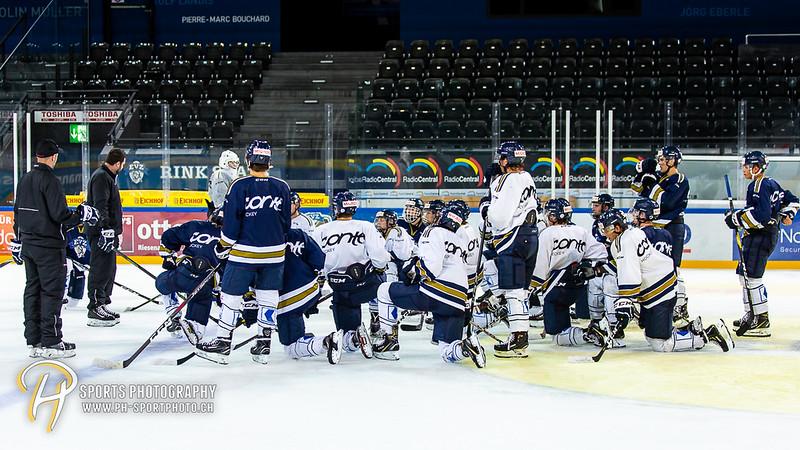 Elite A Junioren - Training - 18/19: EV Zug - Mannschaftstraining - 07-08-2018