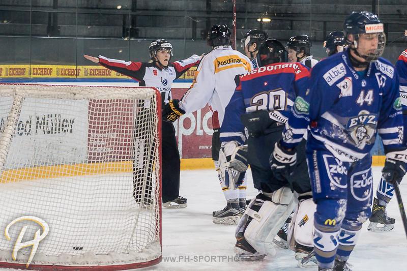 Junioren Elite A: EV Zug - HC Lugano - 5:1