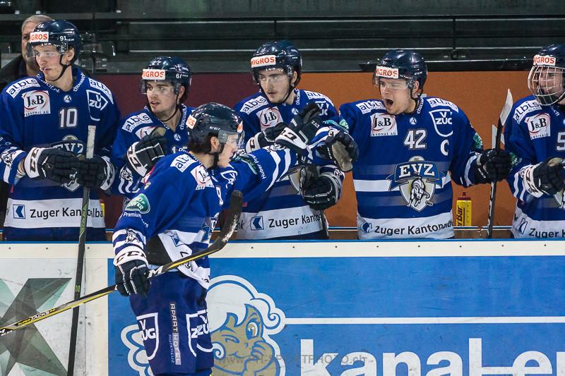 Junioren Elite A Playoff Halbfinal, Spiel 1: EV Zug - Kloten Flyers - 5:2