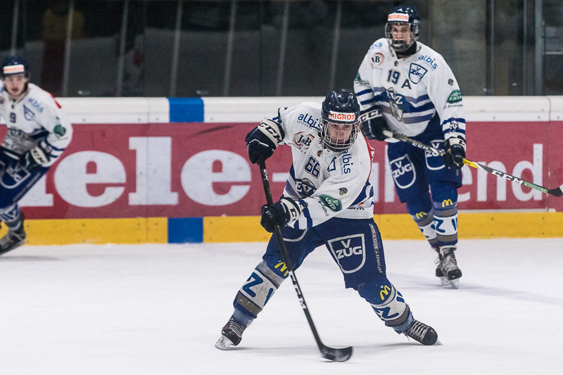 Junioren Elite A Playoff-Final, Spiel 2: GCK Lions - EV Zug - 4:0