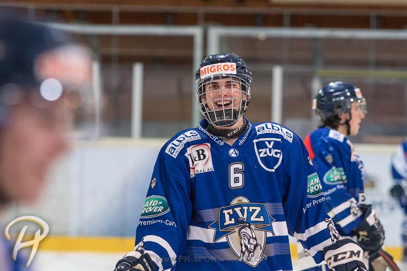 Junioren Elite A: EV Zug - Kloten Flyers - 5:1