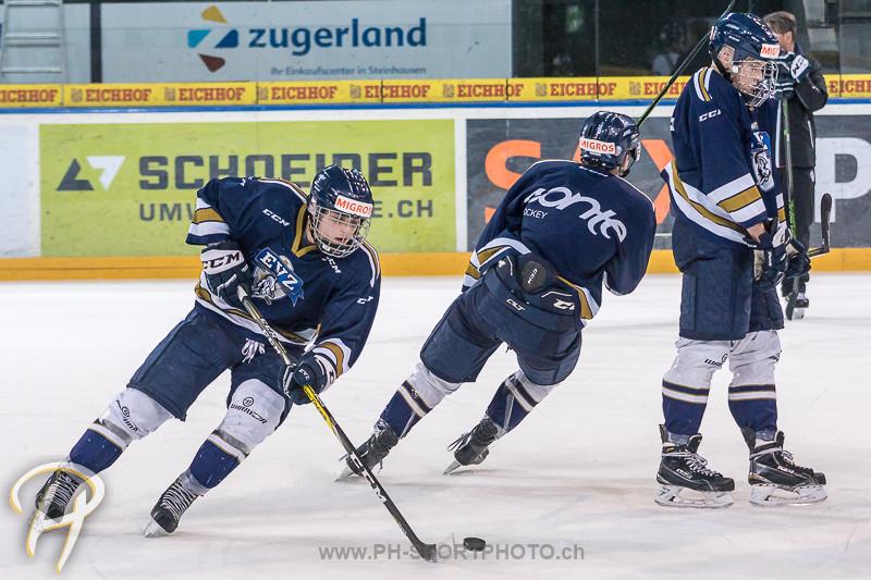 Junioren Elite A: EV Zug - Training