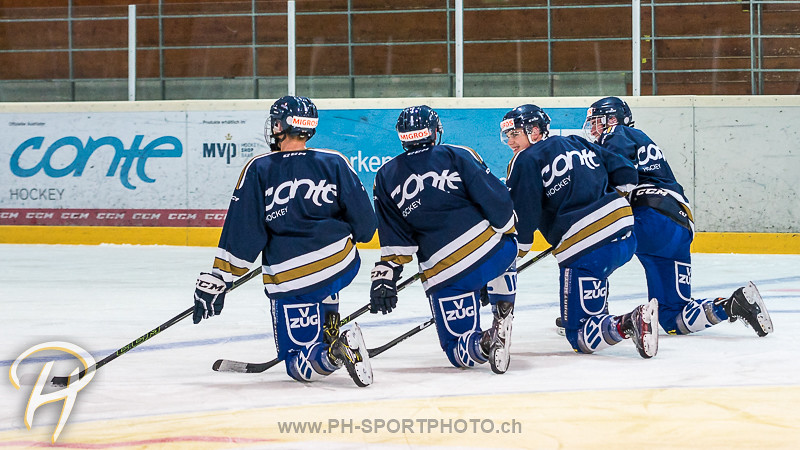 EV Zug Junioren Elite A Training