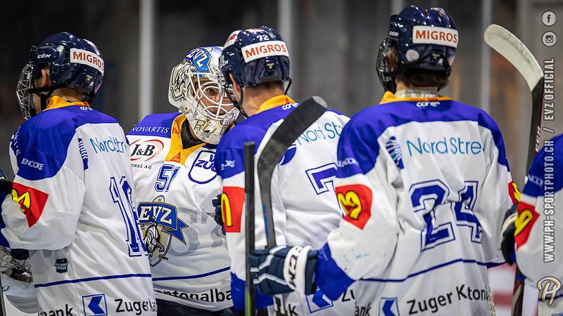 U20-Elit - 19/20: EV Zug - EHC Seewen - 21-08-2019