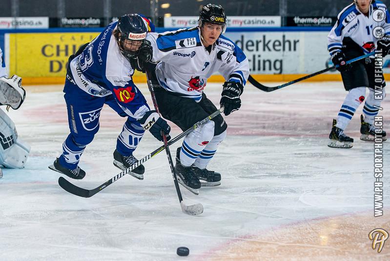 U20-Elit - 19/20: EV Zug - Gottéron MJ (HC Fribourg Gottéron) - 27-09-2019