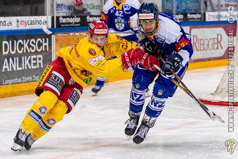 U20-Elit - 19/20: EV Zug - SCL Young Tigers - 19-01-2020
