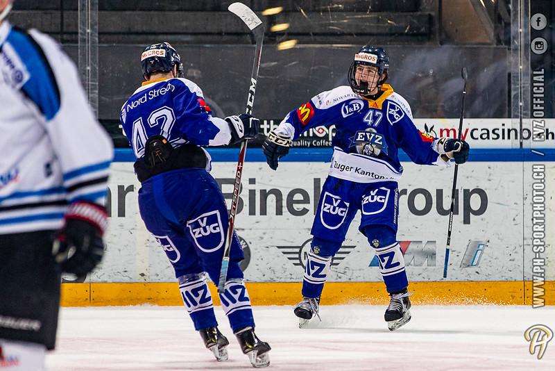 U20-Elit - 19/20: EV Zug - Gottéron MJ (HC Fribourg Gottéron) - 25-01-2020