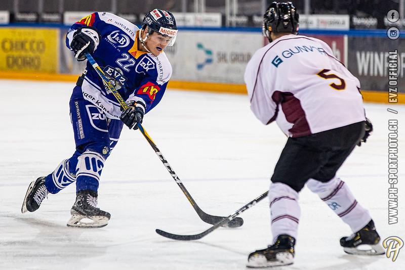 U20-Elit - 19/20: EV Zug - Geneve Future Hockey - 21-02-2020