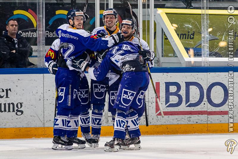 U20-Elit - 19/20: EV Zug - SCL Young Tigers - 01-03-2020