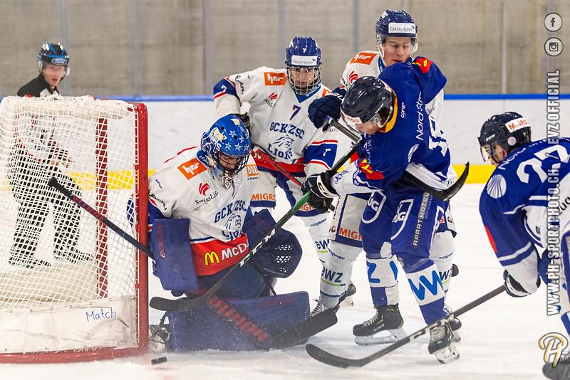 U20-Elit - 20/21: EV Zug - GCK Lions - 04-09-2020