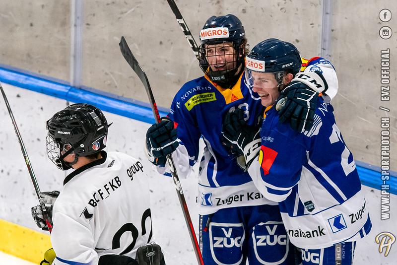 U20-Elit - 20/21: EV Zug - Fribourg Gottéron Young Dragons - 25-09-2020