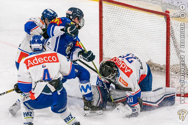 U20-Elit - 20/21: EV Zug - GCK Lions - 15-11-2020