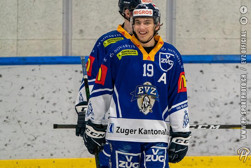 U20-Elit - 20/21: EV Zug - HC Lugano - 15-01-2021