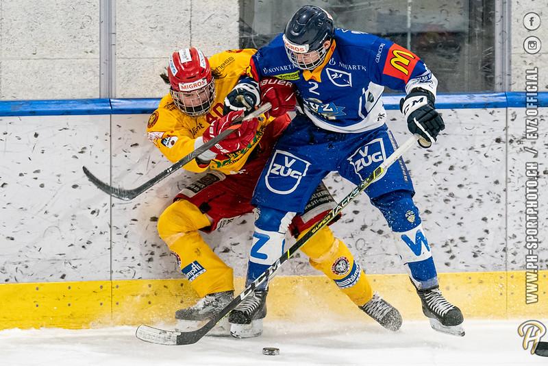 U20-Elit - 20/21: EV Zug - SCL Young Tigers - 03-02-2021