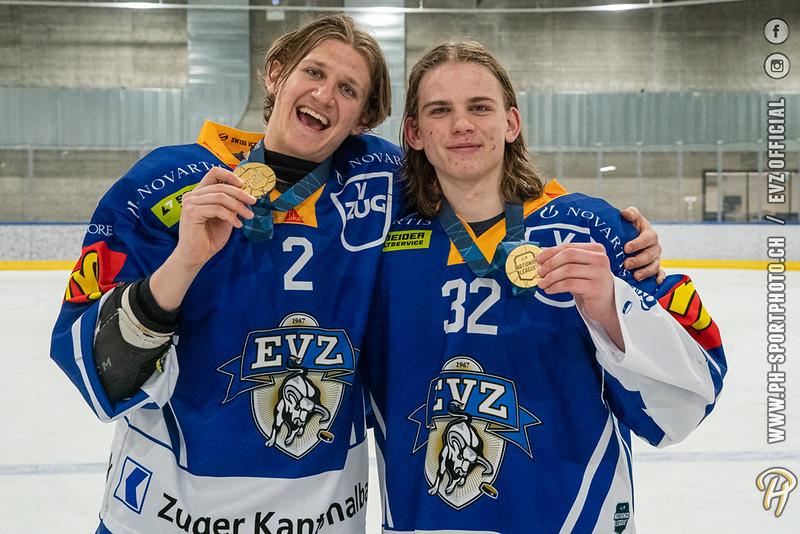 U20-Elit - 20/21: EV Zug - EHC Biel-Bienne Spirit - 05-04-2021