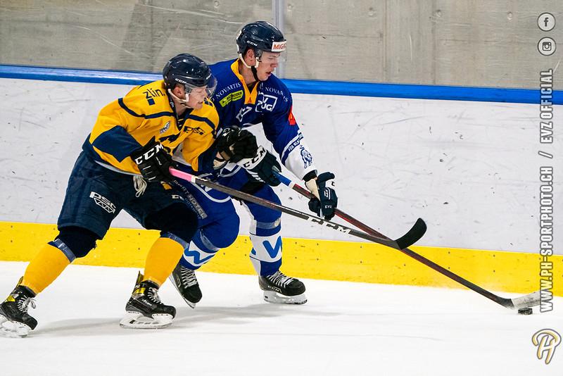 U20-Elit - 2021: EV Zug - HC Berani Zlin - 17-08-2021