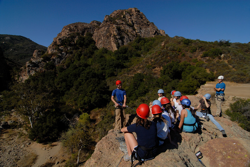 Archer School, 8th-Grade Fall Outing, Malibu Creek State Park
