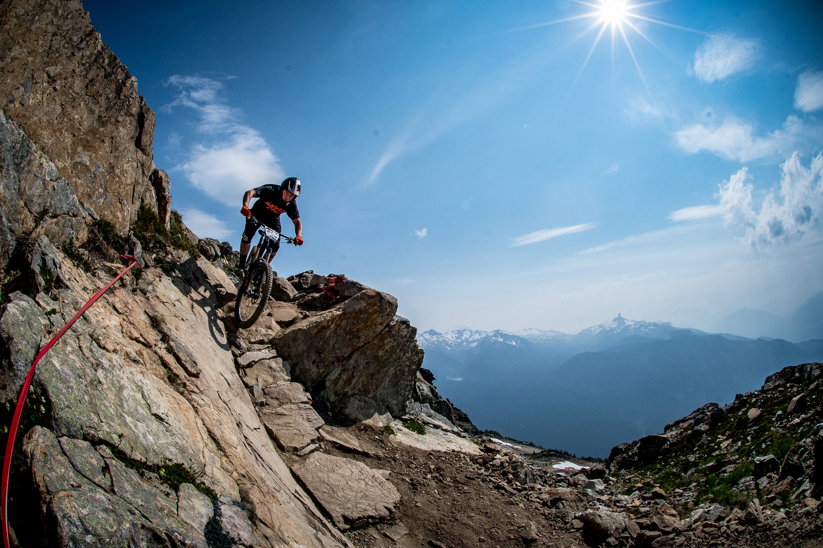 Craig Wilson. Enduro World Series Training. Crankworx Whistler 2017. Photo by: Scott Robarts