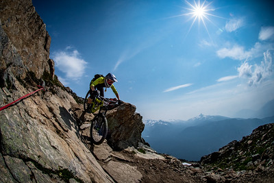 Enduro World Series Training. Crankworx Whistler 2017. Photo by: Scott Robarts