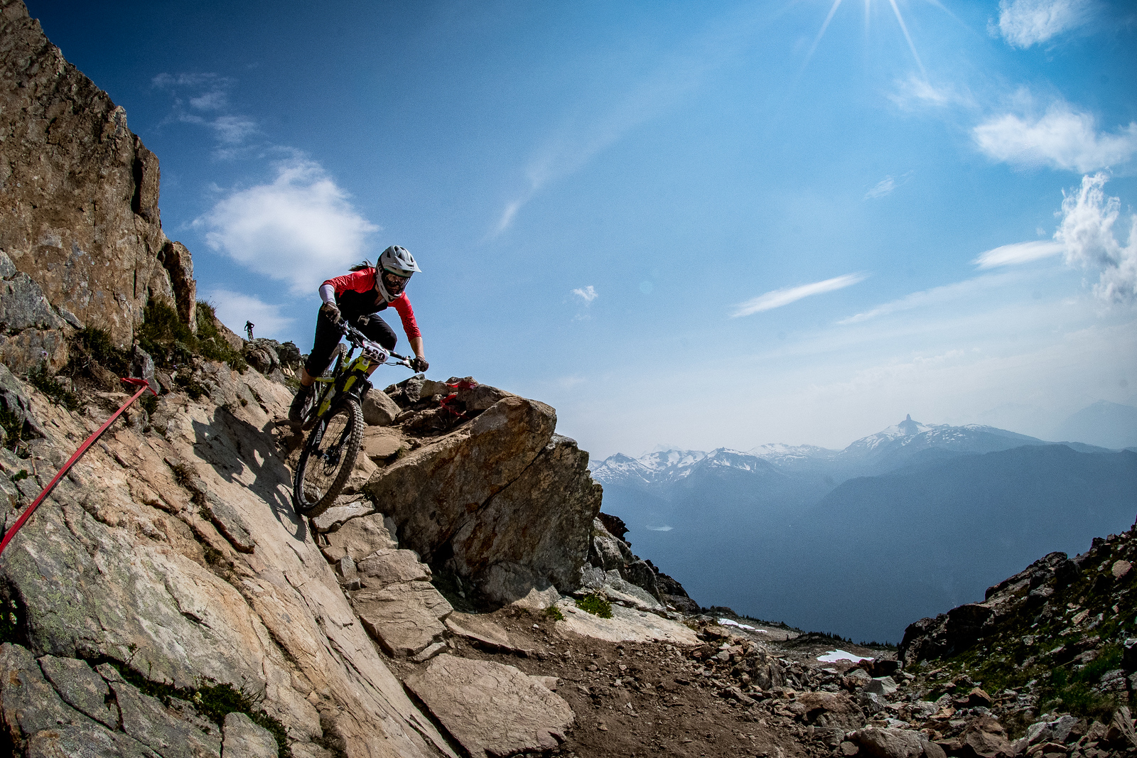 Britt Phelan. Enduro World Series Training. Crankworx Whistler 2017. Photo by: Scott Robarts