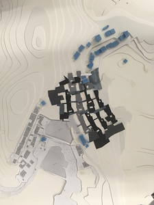 12 Neue Siedlungsstrategie für das Dorf Haiyang, Wuhan - Modell | settlement strategy for the Haiyang Village, Wuha - model. EXH Design 2018