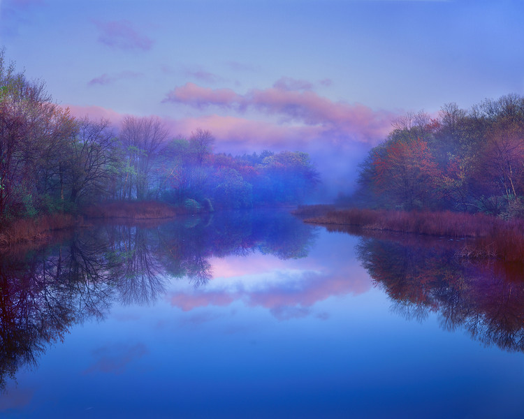 Morning Fog, Sudbury River