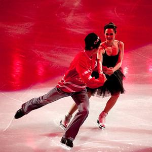 Tessa Virtue and Scott Moir of Canada, Figure Skating Exhibition Gala
