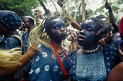 Yaruba Kids, Nigeria, Africa