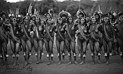 """Sexual activity is regarded among the Kayapo as a natural and desired part of life. Rules regarding sexual activities are complex and vary between different sex and age groups; sexual faithfulness is a matter of individual choice rather than a common rule. """"There are those men who do not like their women to be with someone else; there are others who do not mind"""" says Kwyra Ka """"Those who do not mind stay together, those who mind separate"""". It is a normal custom for Kayapo Indians to marry, split up and remarry several times, and as a rule chiefs have several sexual partners at the same time.  Gorotire, Xingu Reserve, Brazilian Amazon"""