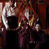 Ralung Rinpoche with his parents.
