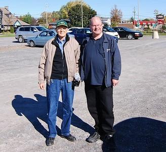 LtoR: George McRae., Dean McCunn.