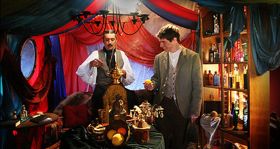 0 - Ozwald and Colt in the Tent - Interior 12x18ft  - 72dpi 10x18  FINAL IMAGE 01 004