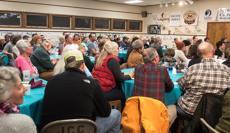 Full house at Banquet