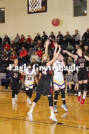 Eagle Grove girls basketball 18-19