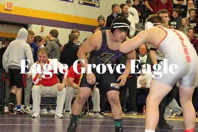 Eagle wrestling 18-19