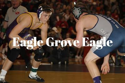 Eagle wrestling sends three on to district round, team third