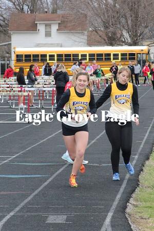Lady Eagle Track & Field '19