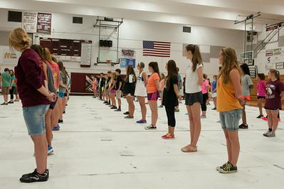 Eagle Pride Summer Practice