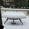 Eileen Hoffmire sent this pic of a snow covered deck.