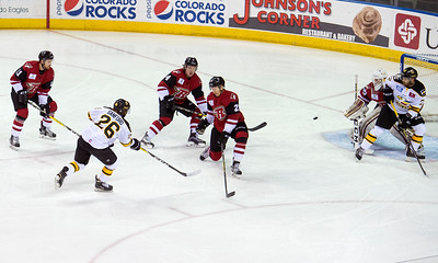 Eagles Hockey vs Rapid City Oct., 26, 2016