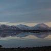 View from Finnoy towards Steigen at sunset