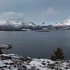 Spectacular scenery looking across towards Hamaroyskaftet